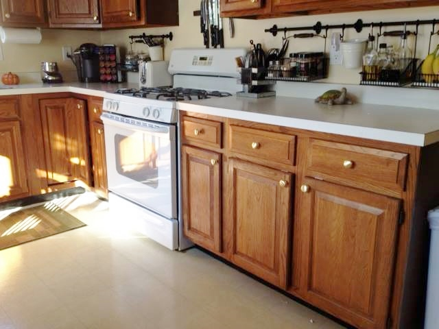 Brown Cabinets 1 – Before