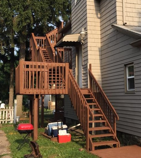 Deck & Steps After – 1