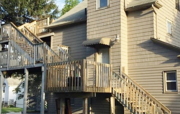 Deck & Steps Before – 1